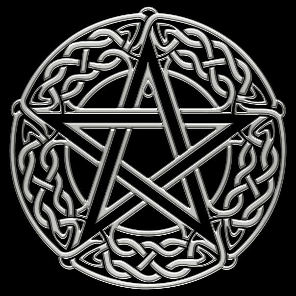 celtic pentagram pentacle by chrome dreaming on deviantart. Black Bedroom Furniture Sets. Home Design Ideas