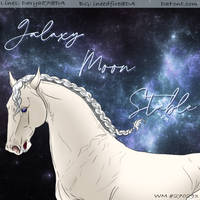 Galaxy Moon Stables by FreedomFlying