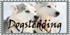 Dogsled stamp by jmillart