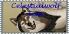 Celestialwolf Fan Stamp by jmillart