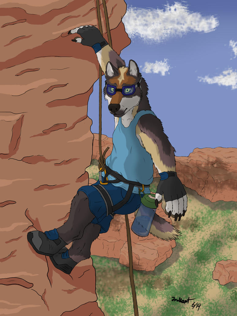 Rock Climbin by jmillart