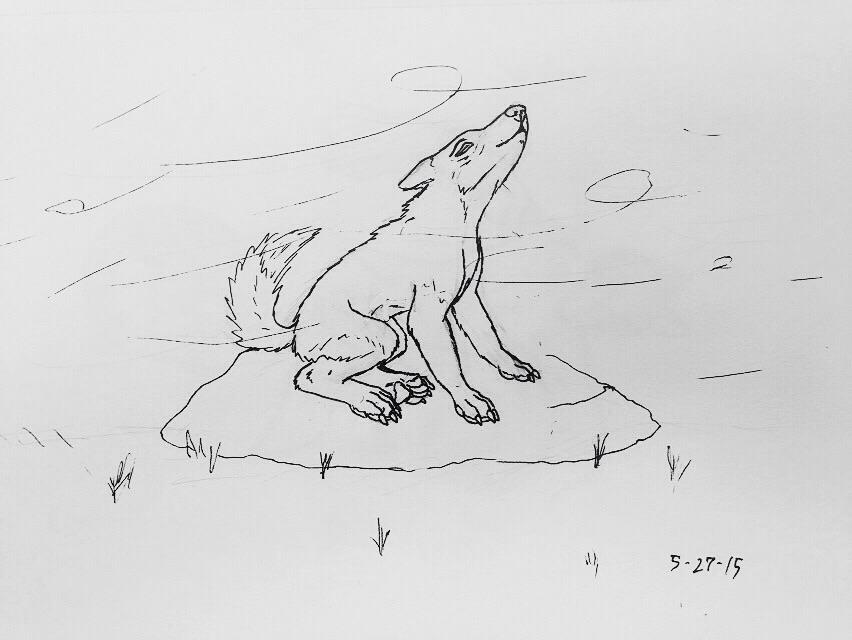 The Windwolf by jmillart