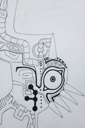Shadow fused Majora's Mask by jmillart
