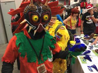 Terrible Fate-Majora's mask causplay by jmillart