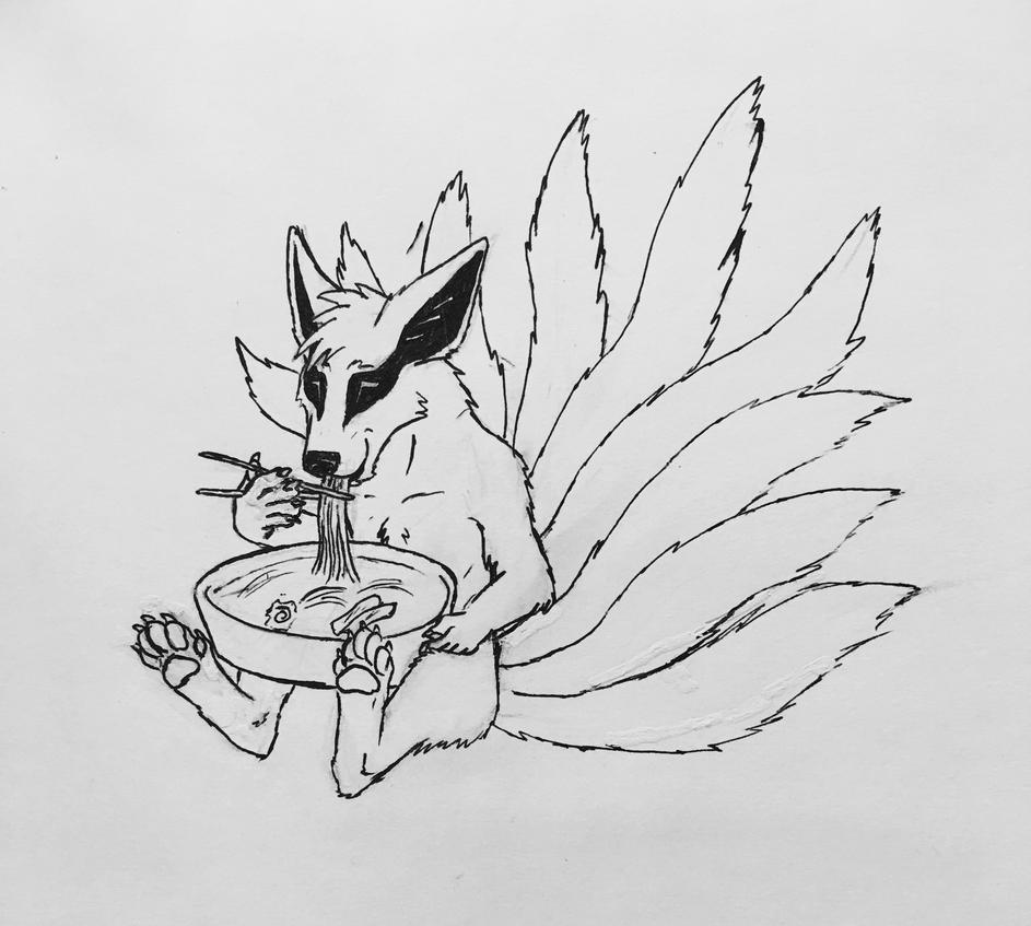 Nine-Tailed Noodles by jmillart