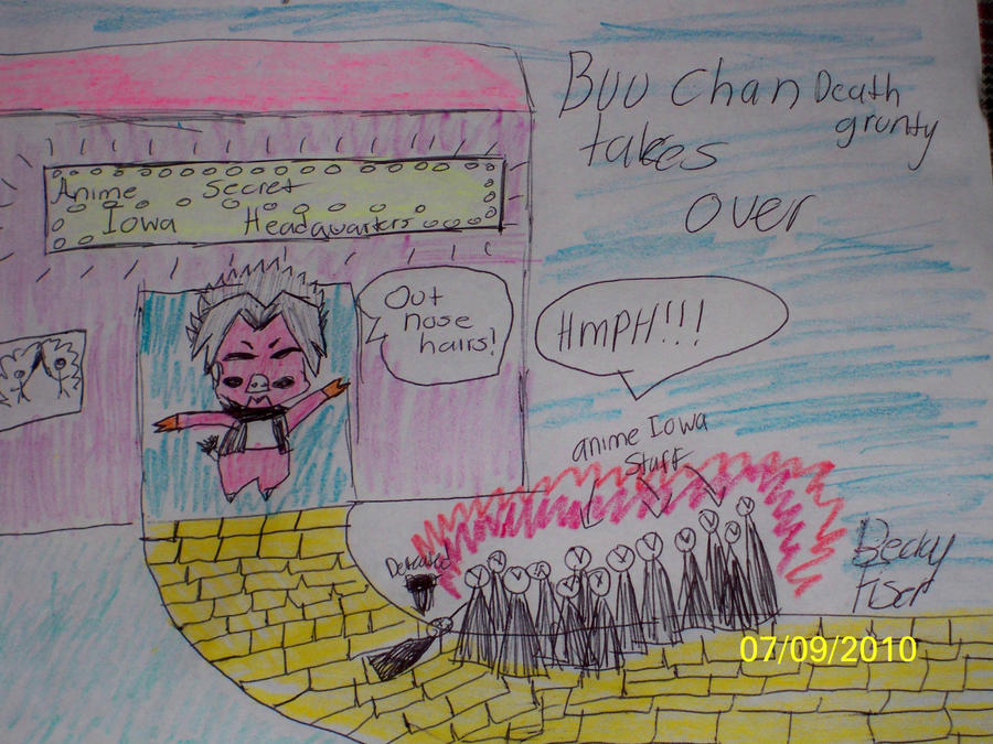 Buu Chan Takes over by Angelicstubborness