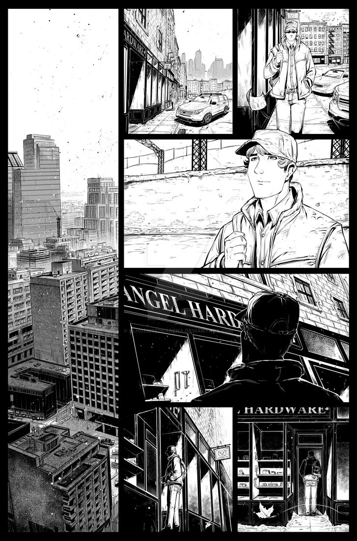 Winter City 11 Page 8 by ElHombredeArena