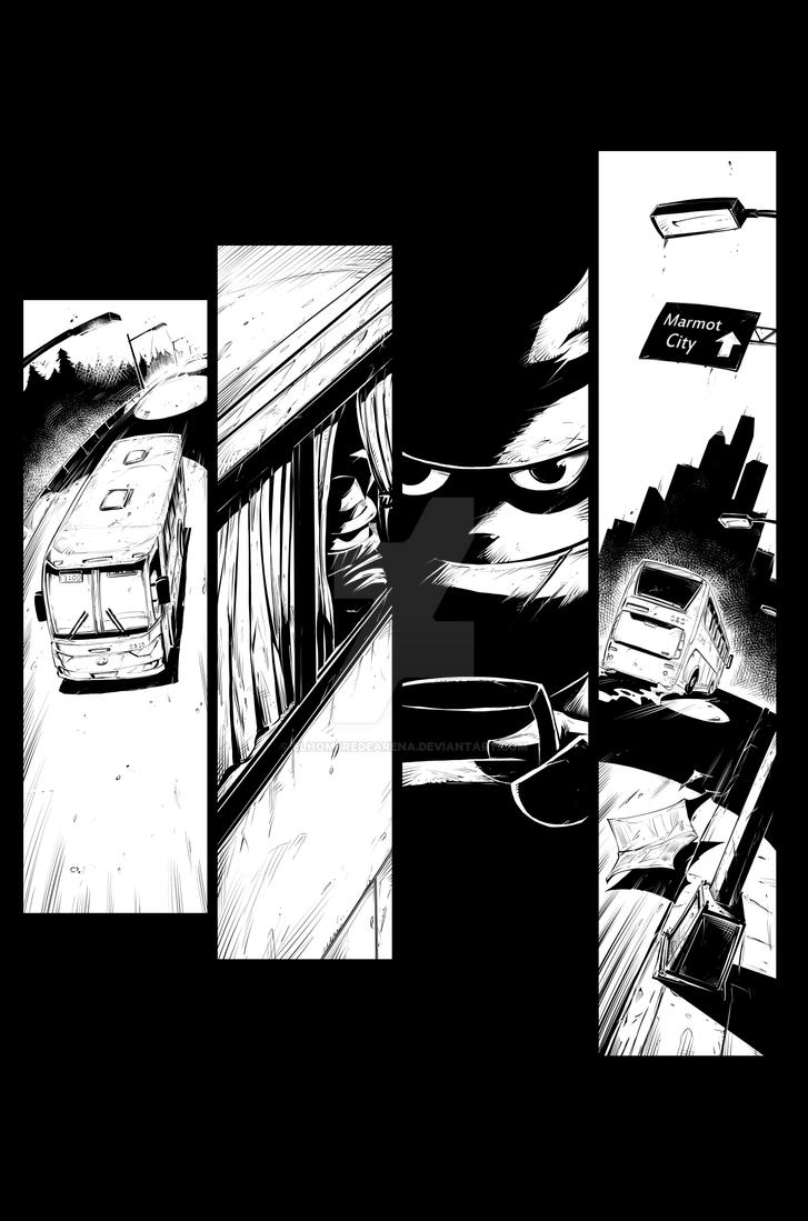 Mr. Beaver Page 01 by ElHombredeArena