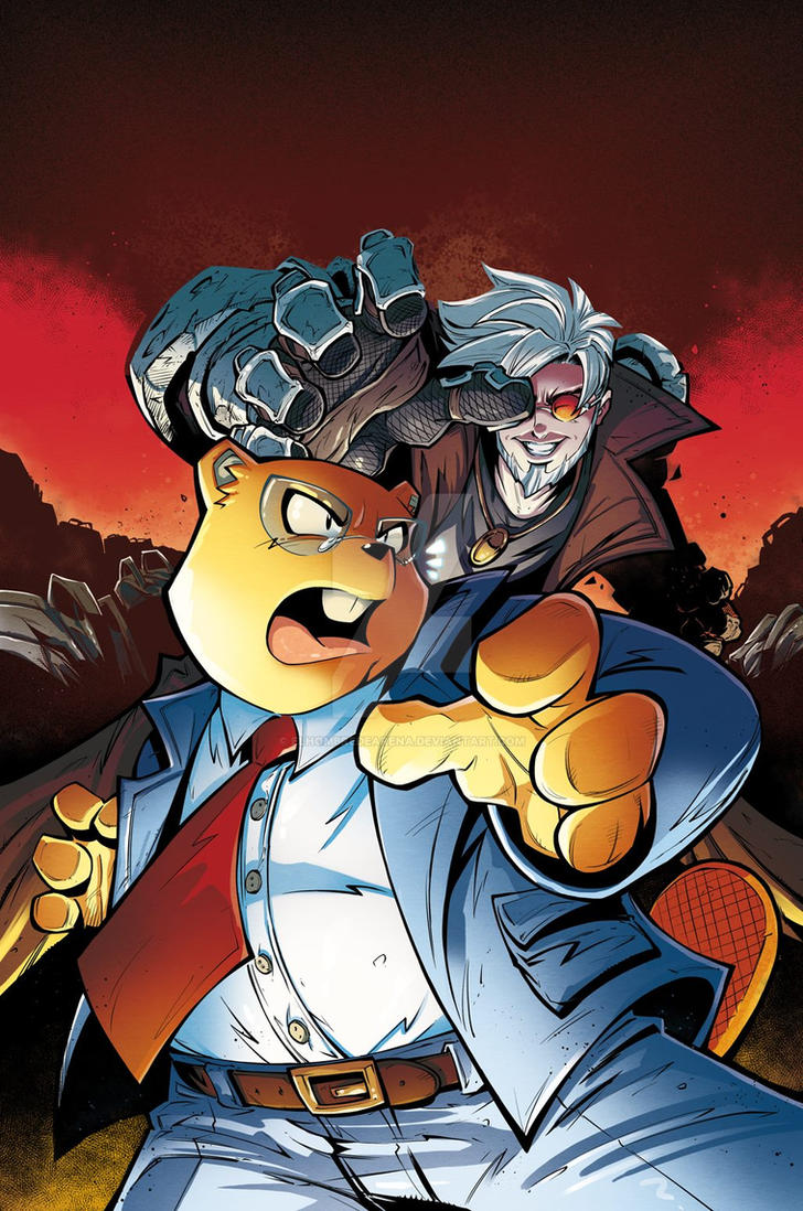 Mr. Beaver issue  03 Cover! by ElHombredeArena