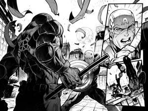 Captain America VS Daredevil