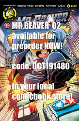Mr. Beaver issue 02 preorder!