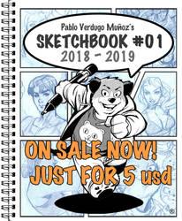 Pablo s Sketchbook 01 on sale now on Gumroad!
