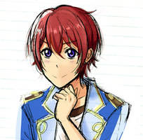 Tsukasa Suou but with Love Live's artstyle