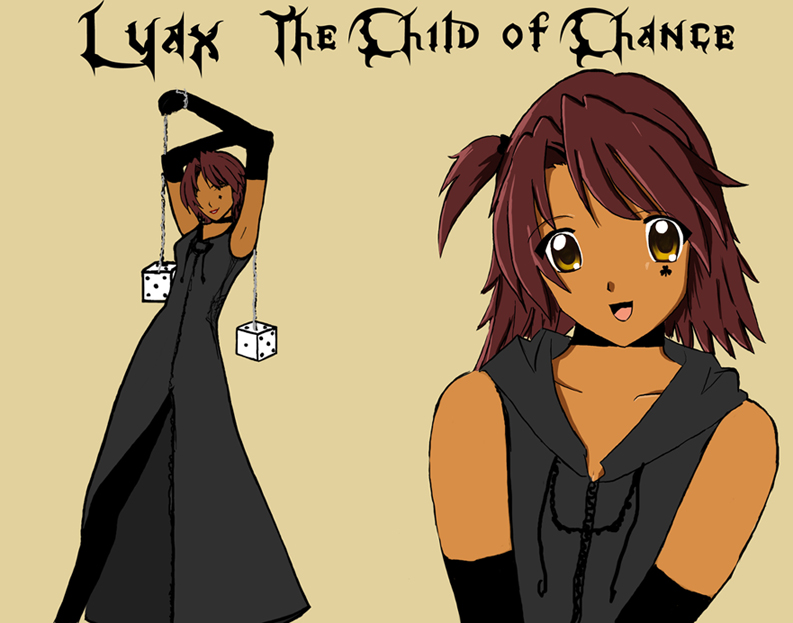 Lyax Character Sheet by AlyNeko