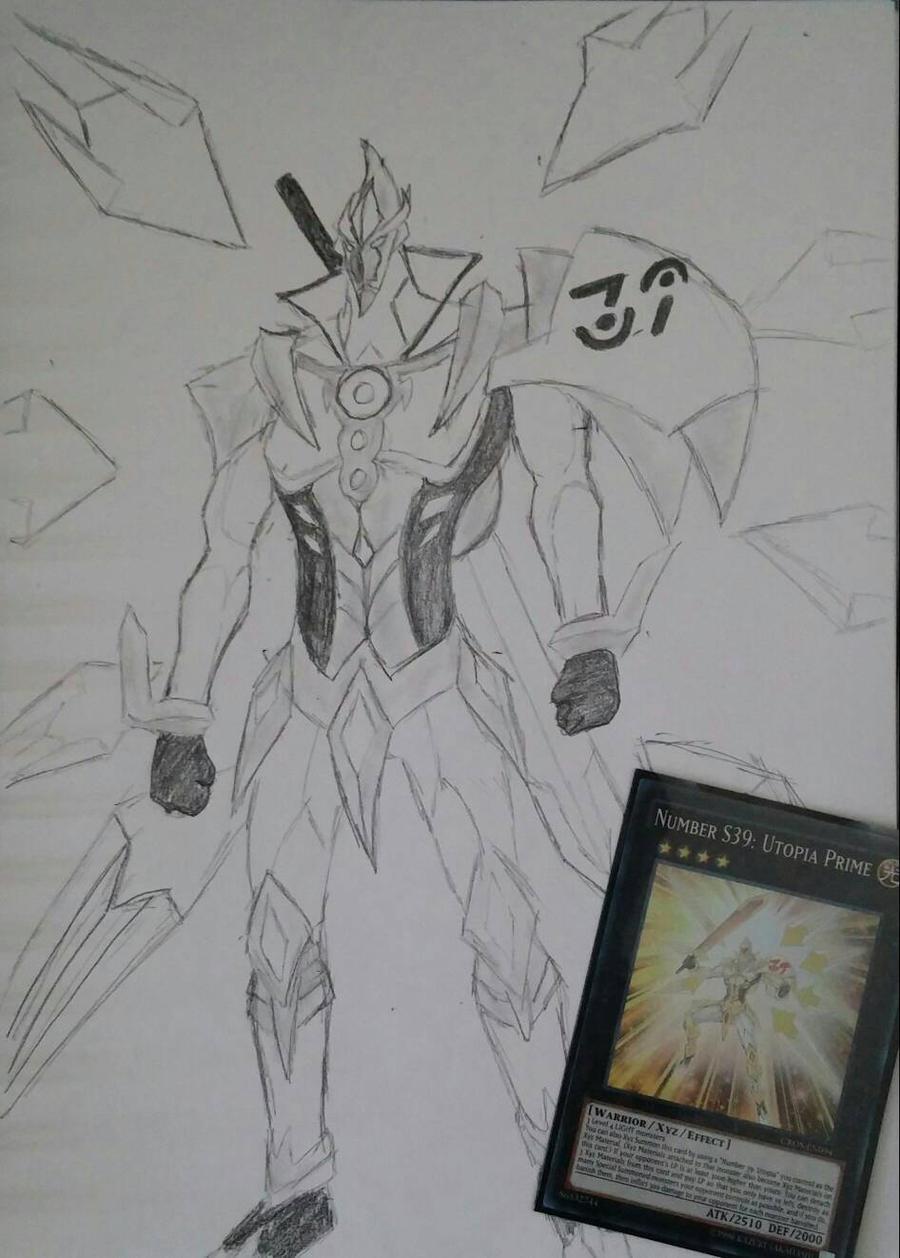 yu gi oh shining number 39 utopia prime by xyz dragonrider on