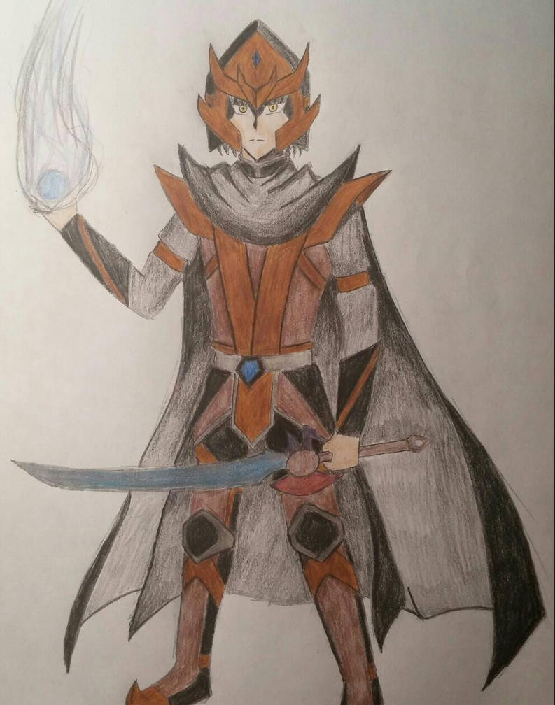 Wizard101: The Overlord (in Color) by Xyz-DragonRider