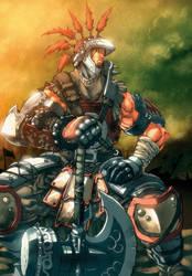 Joe Ngs Warlord by dcjosh