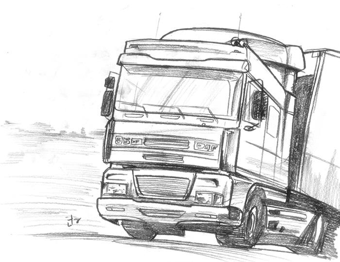 truck sketch ooOOoo by dcjosh on DeviantArt