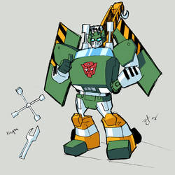 G1 animated Hoist by dcjosh