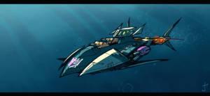 Shark Week Decepticon style by dcjosh