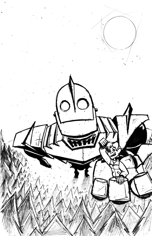 Iron Giant Coloring Pages