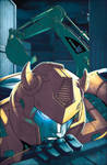 Bumblebee issue3 cover