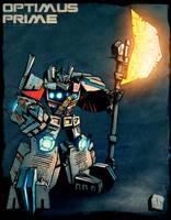 KOR Optimus Prime COLORS by dcjosh