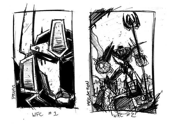 War For Cybertron cover thumbs by dcjosh