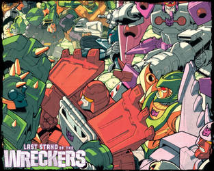 Wreckers 4 wallpaper by dcjosh