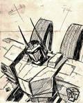 WFC Optimus work sketch