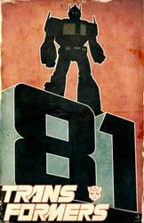 Transformers 81 promo by dcjosh