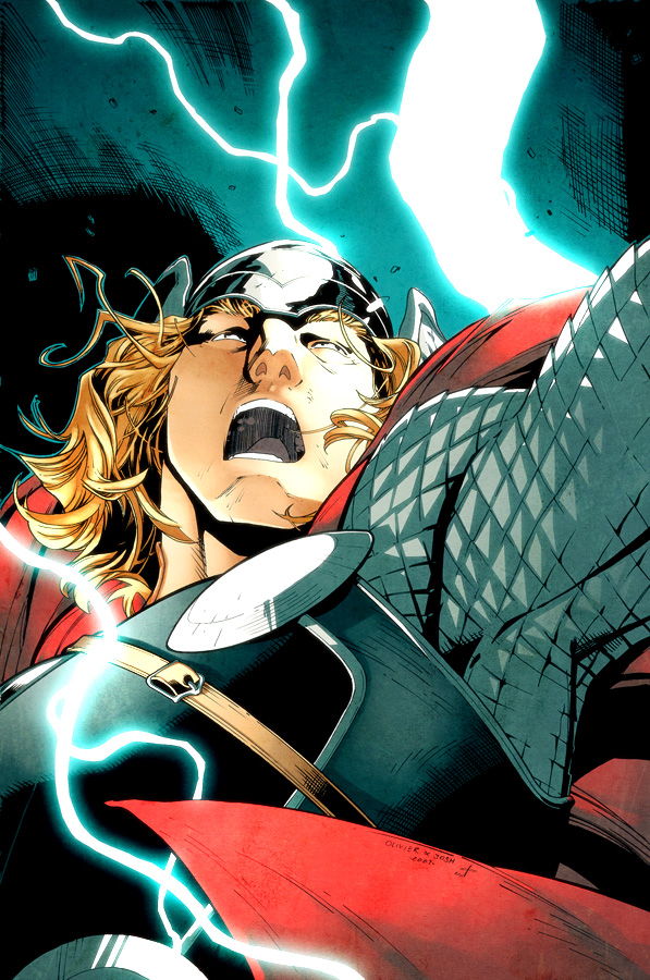 Coipel Templeton Thor by dcjosh