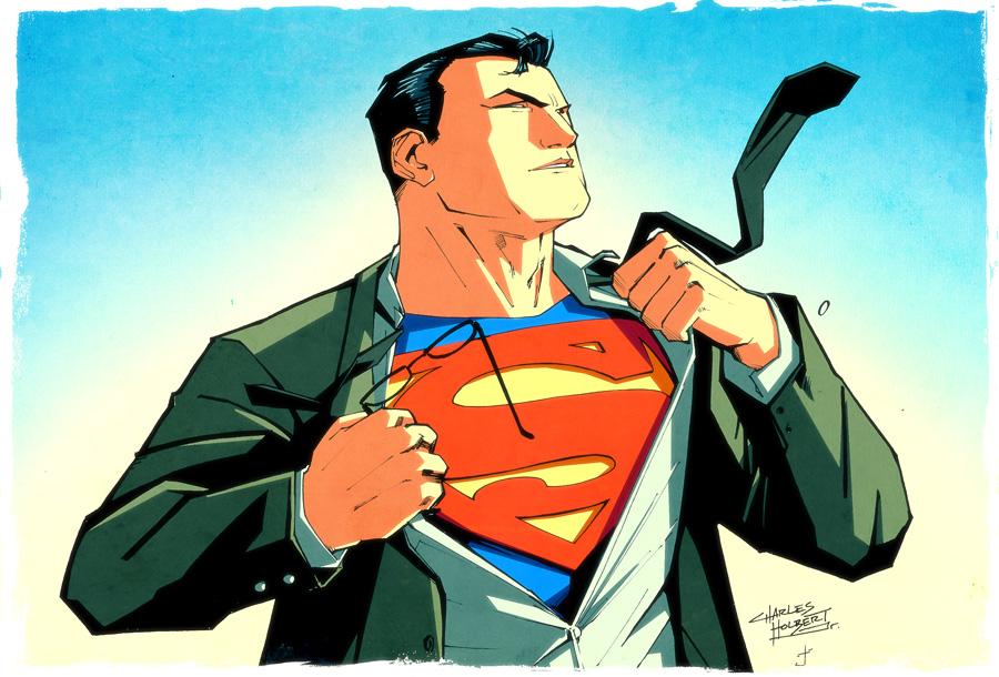 KN Superman LS by dcjosh