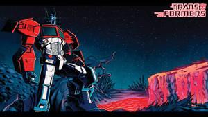 Death of Optimus Prime wallpaper