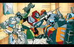 Fall of Cybertron WRECKERS