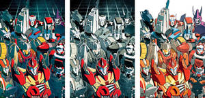 MTMTE 1 cover variations by dcjosh