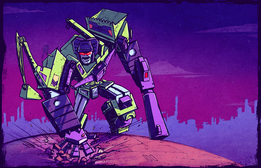 Devastator Commission by dcjosh