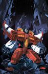 Dark Cybertron issue 3 Casey Cover