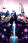 Dark Cybertron issue 3 Nick Roche Cover