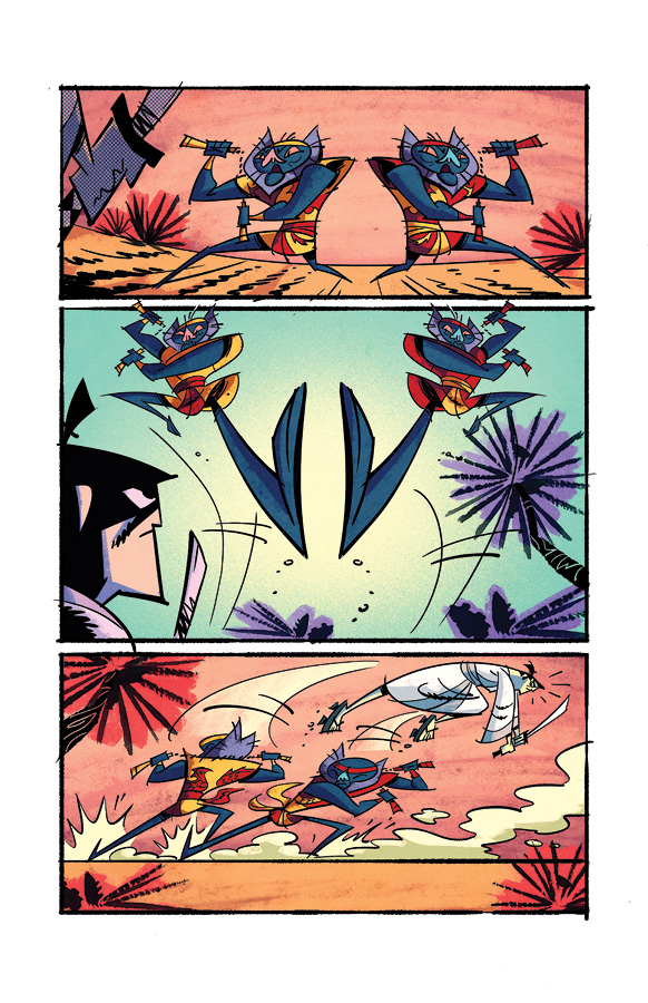 Samurai Jack issue 2 pg6 by dcjosh