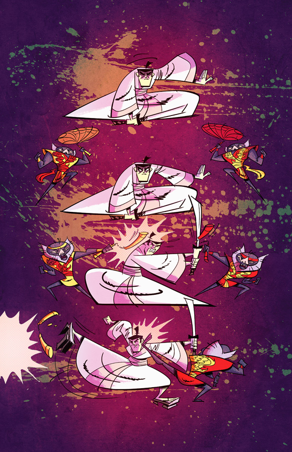 Samurai Jack issue 2 pg7 by dcjosh