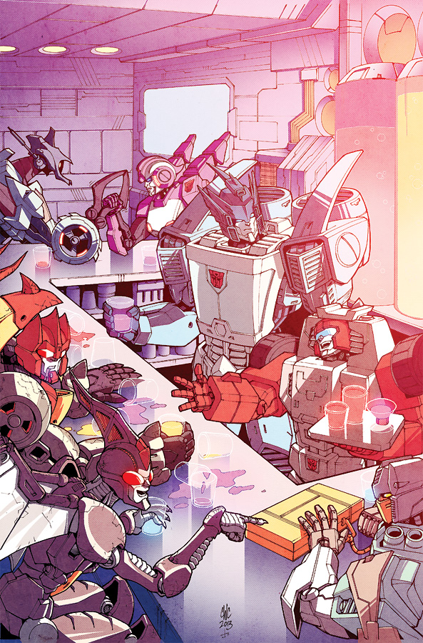 Dark Cybertron issue 10 Casey cover