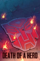 Dark Cybertron issue 11 Casey cover by dcjosh