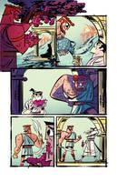 Samurai Jack issue 3 pg6 by dcjosh