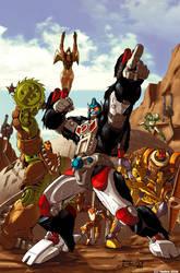 Beast Wars by dcjosh