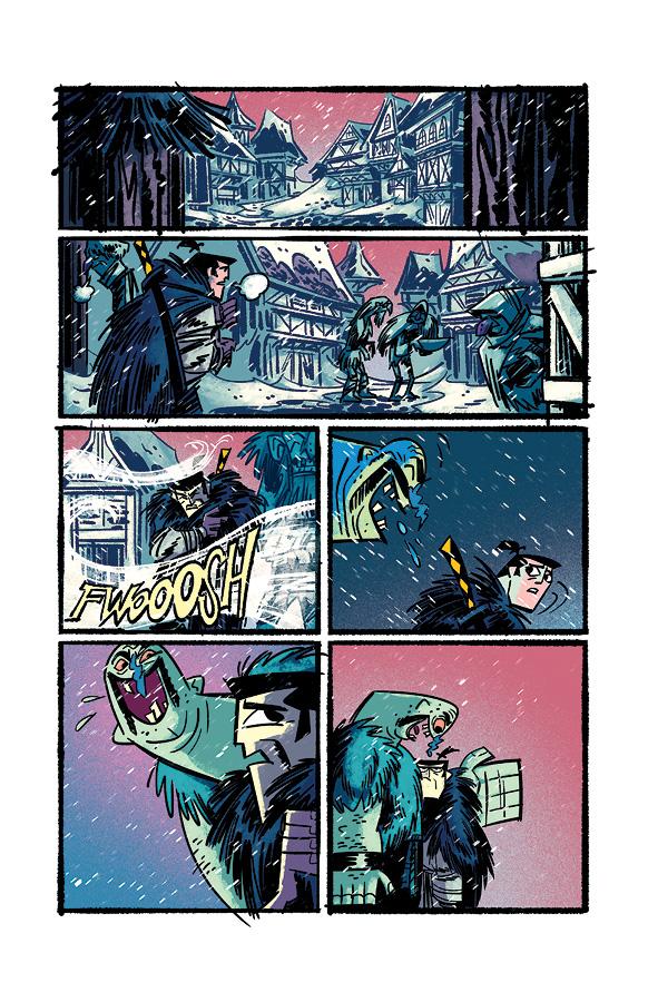 Samurai Jack issue 4 pg4 by dcjosh