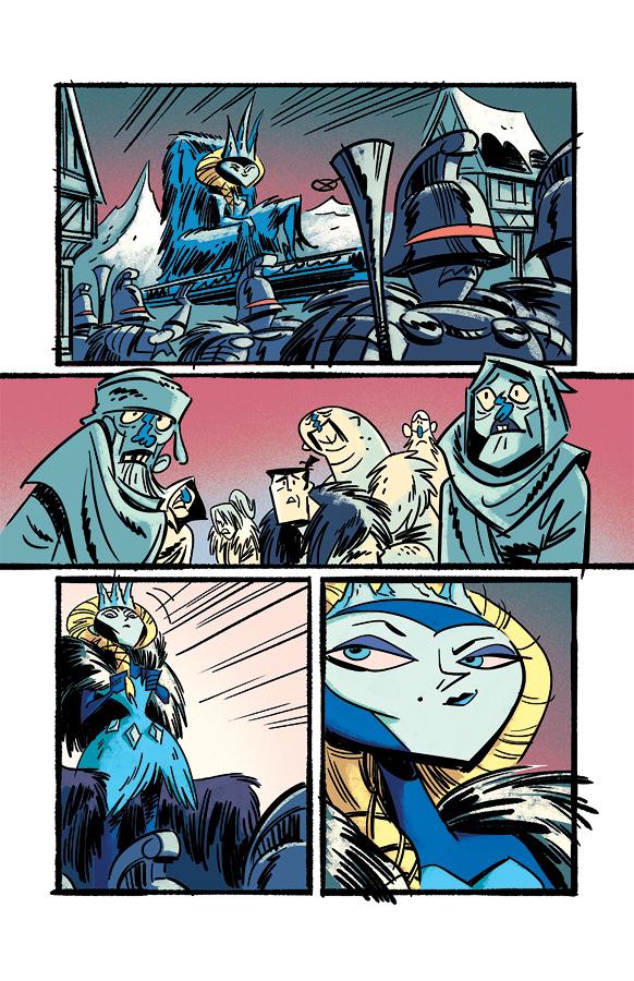 Samurai Jack issue 4 pg6 by dcjosh