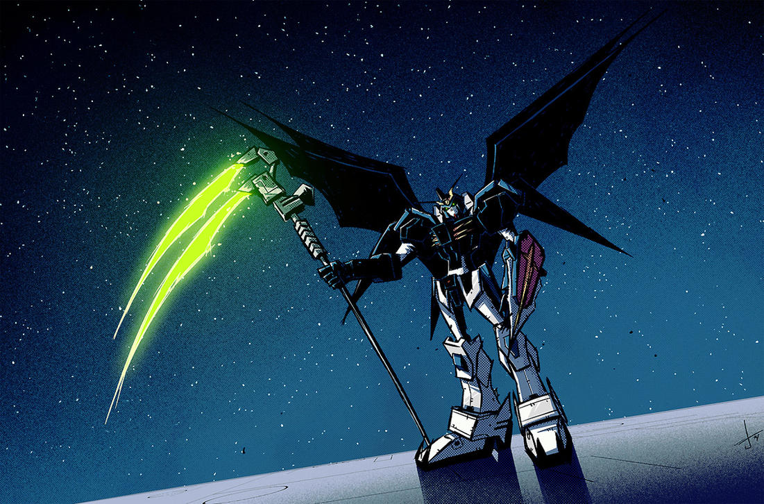 Gundam wing deathscythe wallpaper