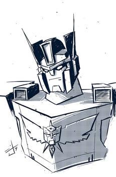 Machine Wars Prime sketch