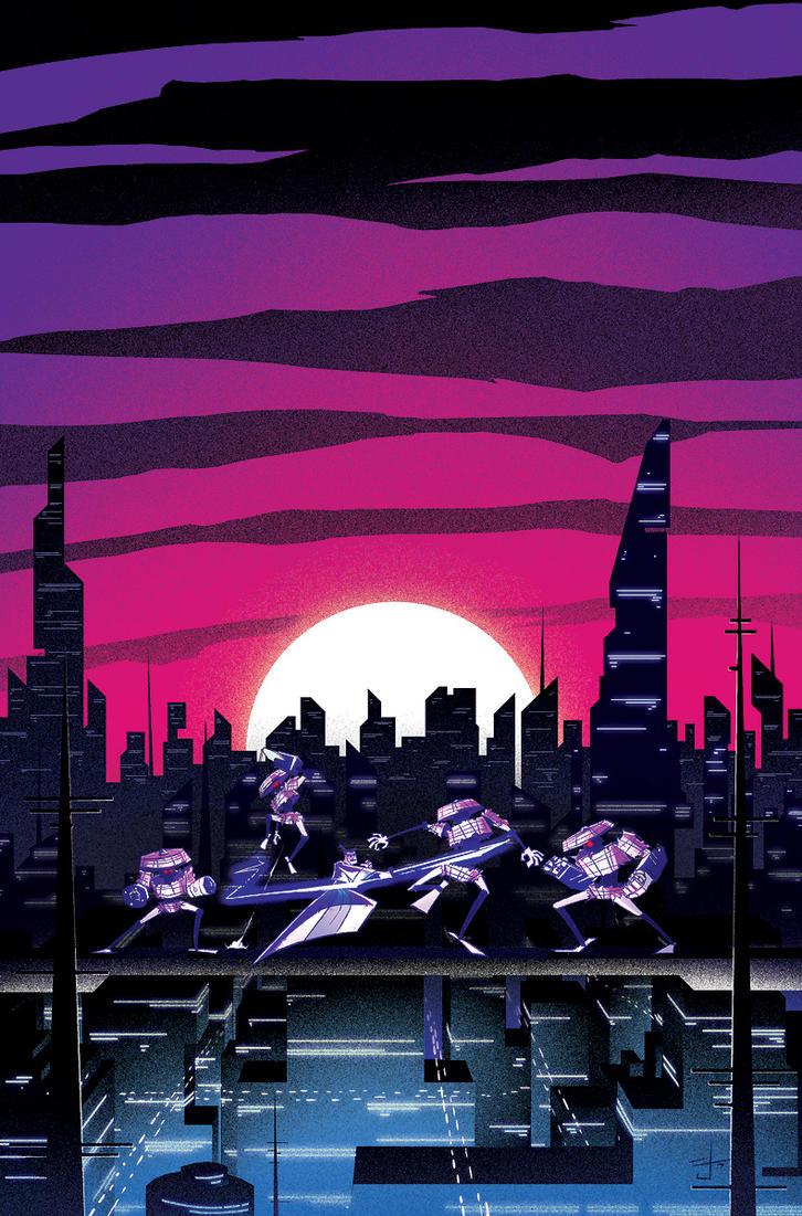 Samurai Jack 19 cover by dcjosh